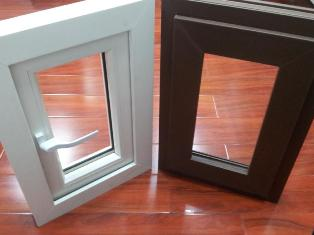 Brown-and-White-uPVC-Window