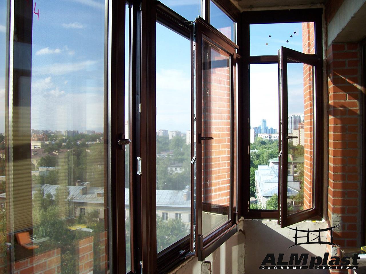 металлопластиковые окна almplast